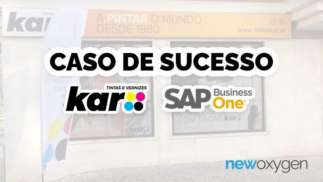 Caso De Sucesso SAP Business One Tintas Kar