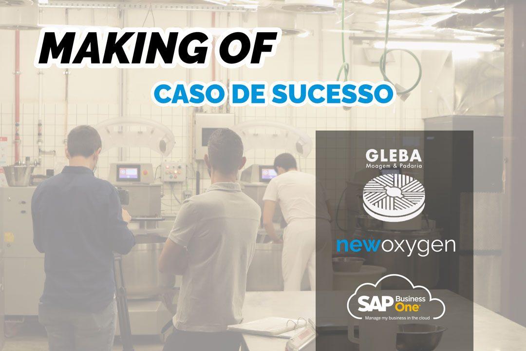 Making of Filmagens Caso de Sucesso GLEBA